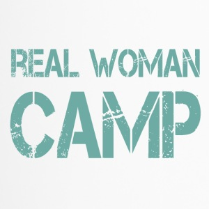 REAL WOMAN CAMP - Travel Mug