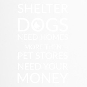 dog shelters - Thermobecher