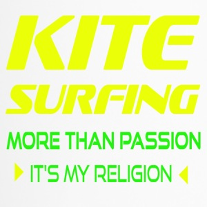 KITESURFING MORE THAN PASSION - ITS MY RELIGION - Travel Mug