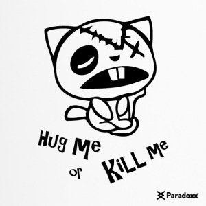 Happy tree friends Hug me or kill me - Dark cat' - Mug thermos