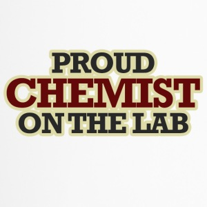 Chemiker / Chemie: Proud Chemist On The Lab - Thermobecher