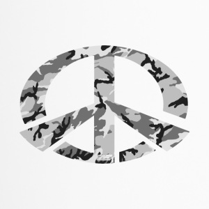 Peace - Snow Camo Edition - Thermobecher
