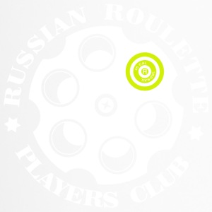 Russian Roulette Players Club -Logo 4 Black - Thermobecher