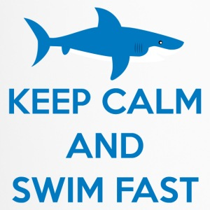 Swimming / Swimmer: Keep Calm And Swim Fast - Travel Mug