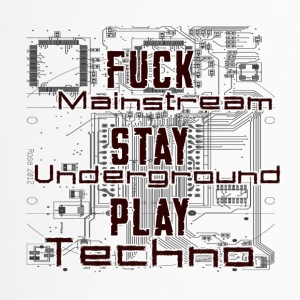 Play Techno - Thermobecher