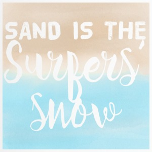 Surfer / Surfing: Sand is the Surfers' Snow - Travel Mug