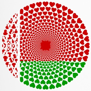 Vitryssland Беларусь Love Heart Mandala - Termosmugg