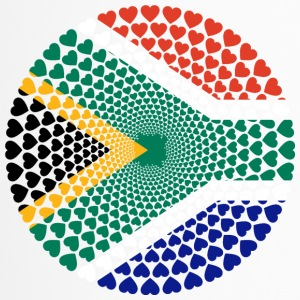 South Africa Süd Afrika Love HERZ Mandala - Thermobecher