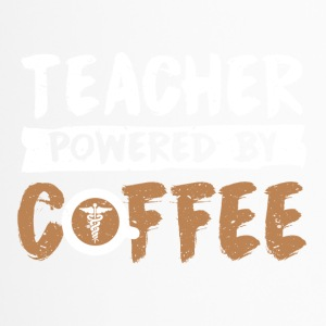 Teacher supported by coffee cool sayings - Travel Mug
