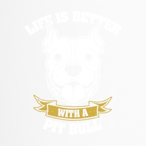 Life is better with dog - Travel Mug