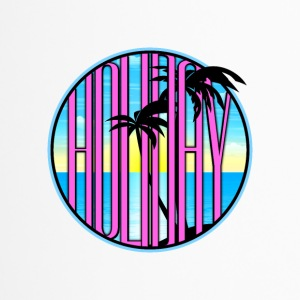 Holiday palm strand zee 03 round ontwerpen - Thermo mok
