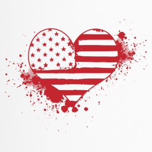 USA Heart! USA! Patriot! Amerika! - Termokrus