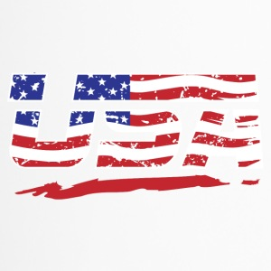 USA Flagge! Amerika! US! Patriot! - Thermobecher