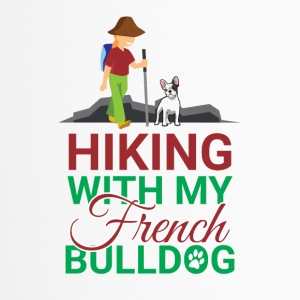 HIKING FRENCH BULLDOG - Thermobecher