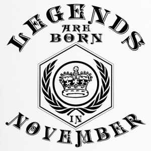 Legends born November birthday gift Young - Travel Mug