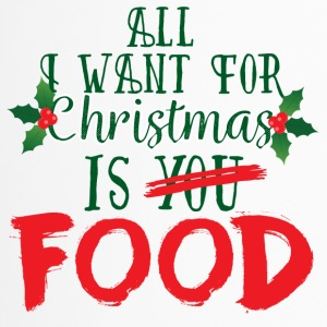 Christmas: All I Want For Christmas Is Food - Travel Mug