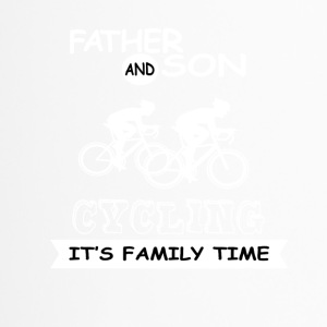 Father And Son - Cycling - Travel Mug