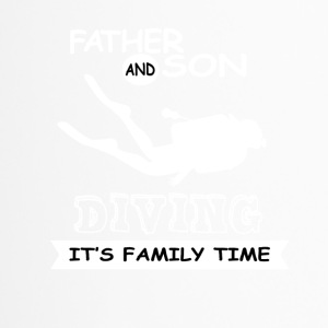 Father And Son - Diving - Travel Mug