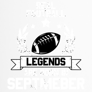 Real Football - American Football! Legende! - Thermobecher