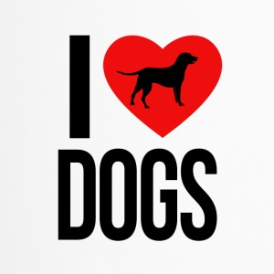 I LOVE DOGS - Thermobecher