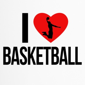I LOVE BASKETBALL - Thermobecher
