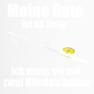 Angler mit Rute - Thermobecher