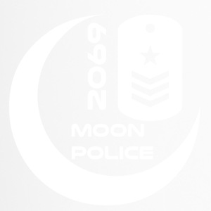 moonpolice wite - Thermobecher