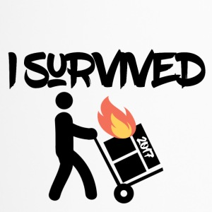 I survived 2017 - Thermobecher