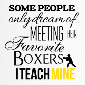 Some people want to meet their favorite boxers - Travel Mug