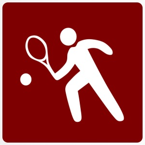 Tennis - Logo - Thermobecher