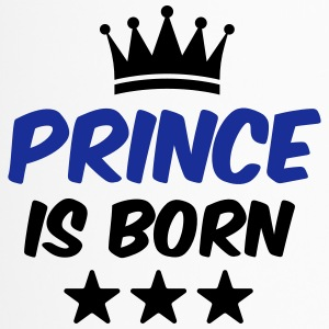 Prince is Born - Baby T-Shirt - Geburts T-Shirt - Thermobecher