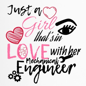 A girl is in love with her mechanical engineer - Travel Mug