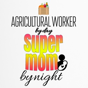 Agricultural worker by day and super mom by night - Travel Mug