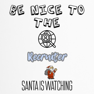 Være rart at recruiter Santa is watching - Termokrus