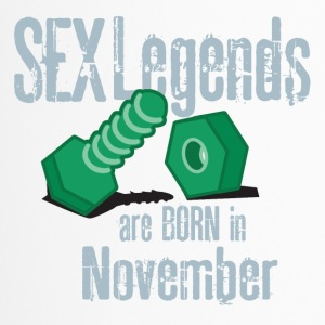 Birthday November Penis Sex Legends November - Travel Mug