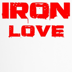 Iron love red - Travel Mug
