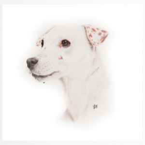 Jack Russell, fischio - Tazza termica