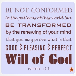 Be not conformed - Travel Mug
