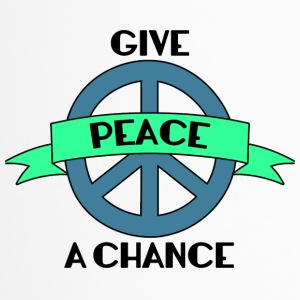 Hippie / Hippies: Give Peace A Chance - Thermobecher