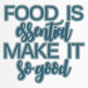 Chef / Chef Cook: Food Is Essential Make It So Good - Travel Mug
