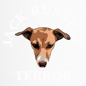 Jack Russell terror white - Thermobecher