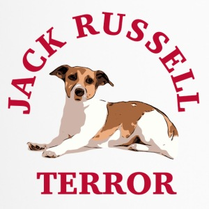 Jack Russell terror3 red - Thermobecher