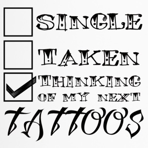 Tattoo / Taptoe: Single, Taken, het Denken aan - Thermo mok
