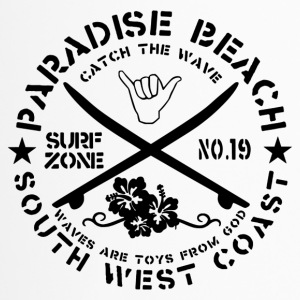 Paradise Beach Logo - Travel Mug