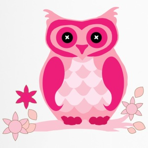 Pink owl - Travel Mug