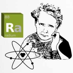Marie Curie - Radium - Thermobecher