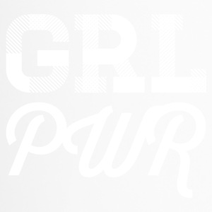 girl power - blanc - Mug thermos