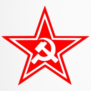 Communist red star flag - Travel Mug