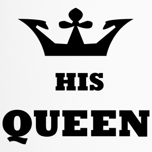 His_Queen King and Queen - Travel Mug