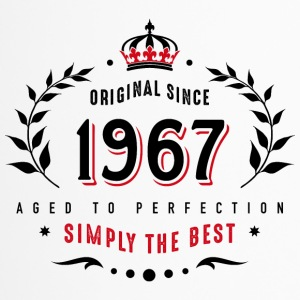 original since 1967 simply the best 50th birthday - Thermobecher